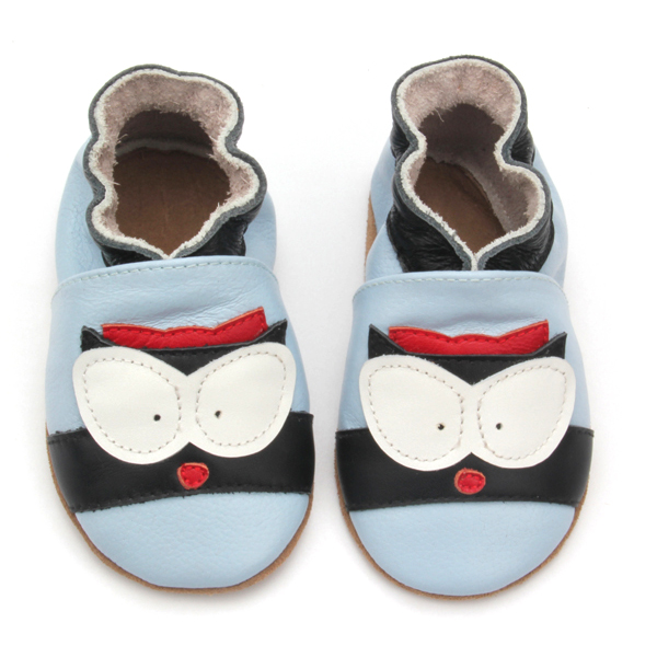 Baby Shoes Soft Sole Leather Crawling Moccasins Cartoon Infant Toddler First Walker Slippers
