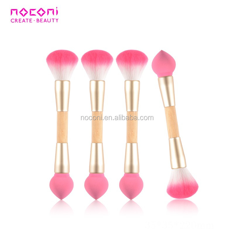 Promotional customized factory wholesale facial Brush makeup double side brushes