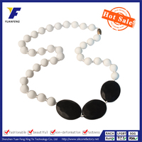 Food Grade Silicone Beads Necklace Wholesale