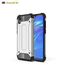 Laudtec Shockproof Hard Cover Soft TPU Hybrid Armor Case For Huawei Honor 8s
