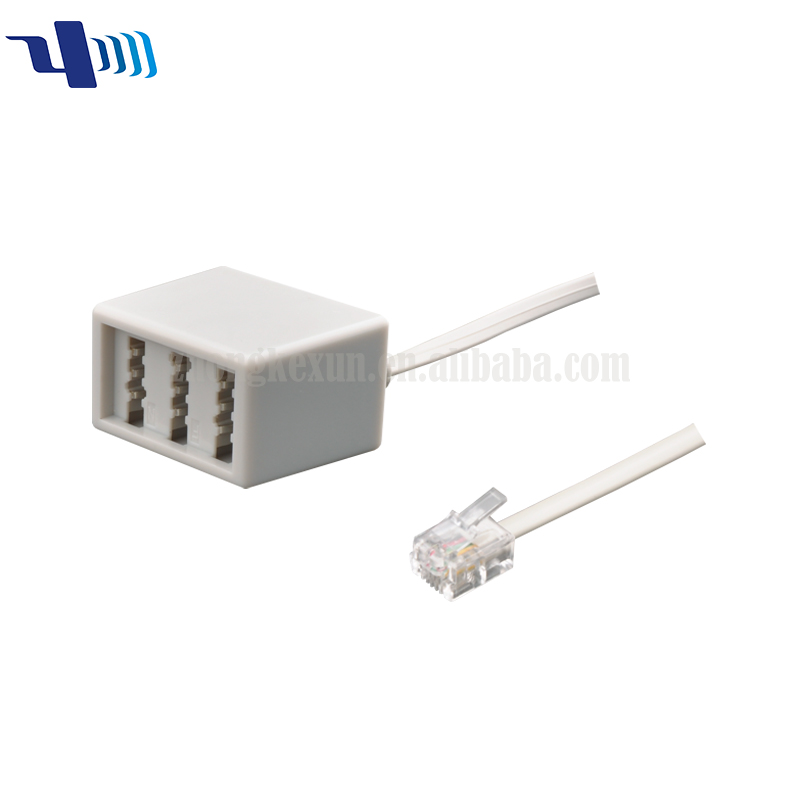 RJ11 Plug to TAE Adapter
