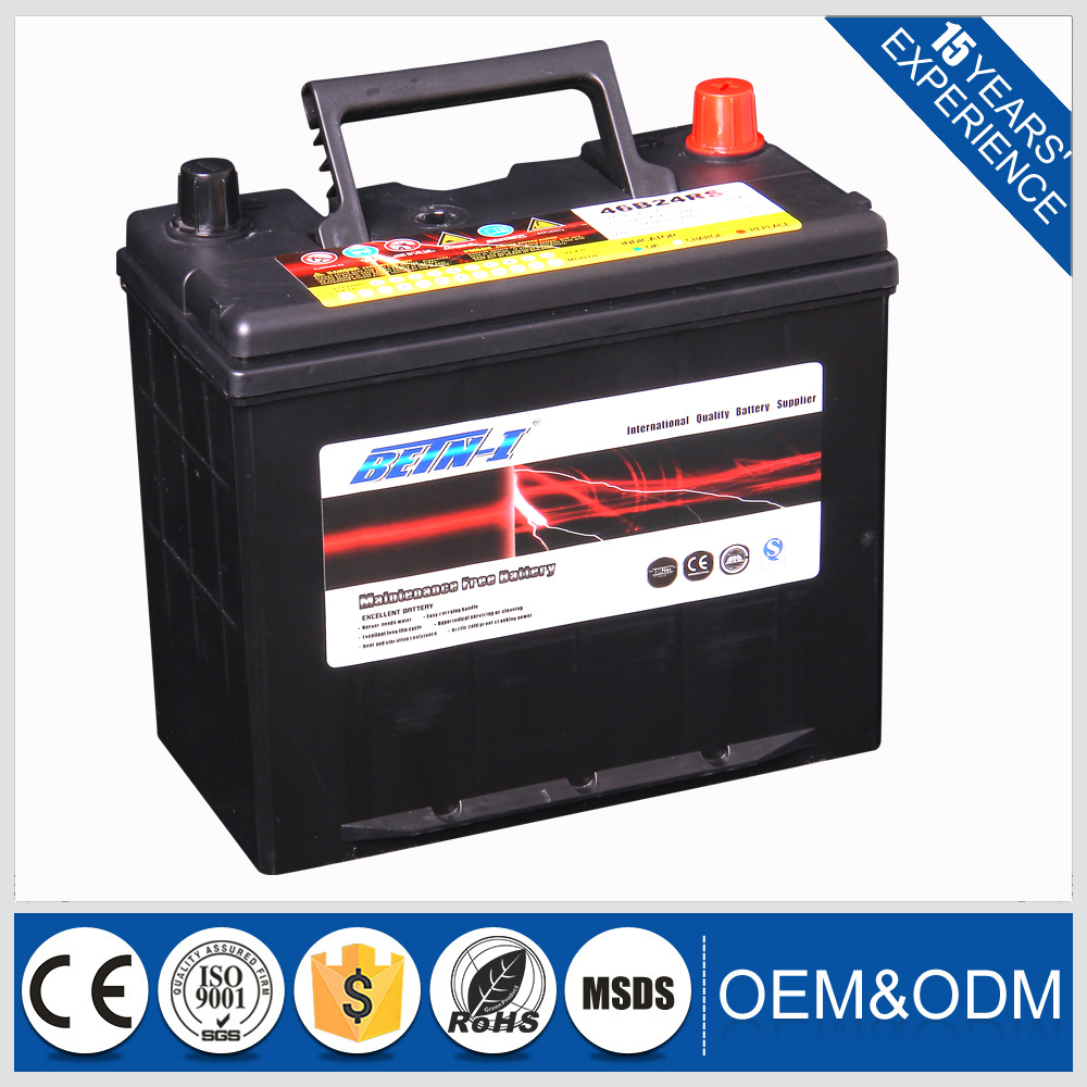 high quality battery!12v45ah japan car battery wholesale brands in stock