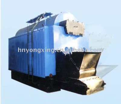 single drum ,double wings gas ducts steam boiler