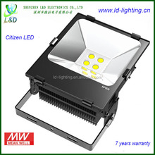 Outdoor 200 watt 200w led flood light with Nichia LED Mean Well LED Driver