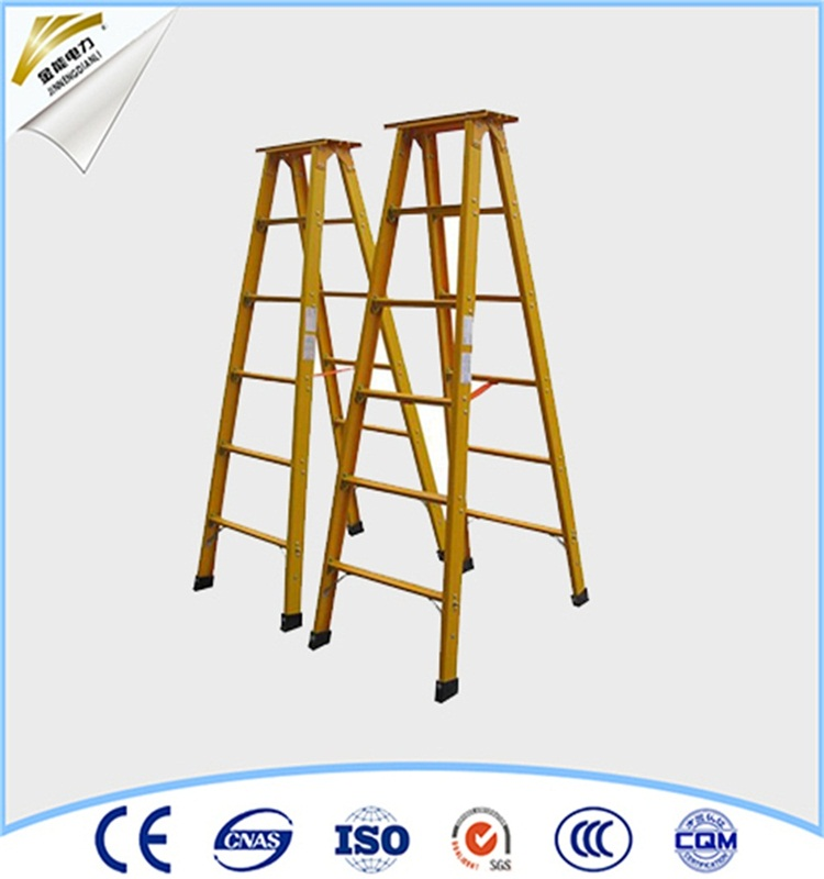 FRP ladder and telescopic trestle insulating ladder