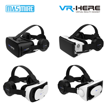 Adjustable VR Pro 3D Glasses Cardboard VR BOX For Smartphones with vr headphone