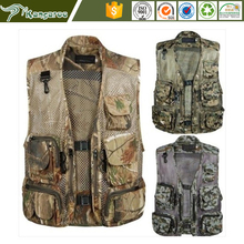 Padded Camouflage Tactical Hunting Waistcoat Vest