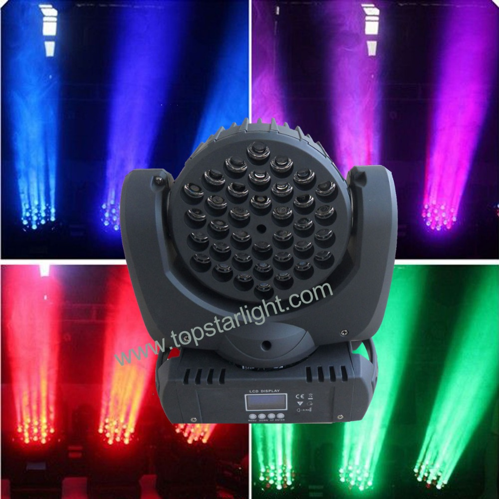 <strong>Best</strong> quality new arrival 36*3w led moving head beam professional disco light stage lighting equipment