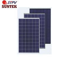 SUNTEK All Black PV poly Solar Panel 270W 280W Solar Module with PV Certifications