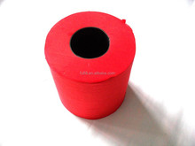 toilet paper roll with black core
