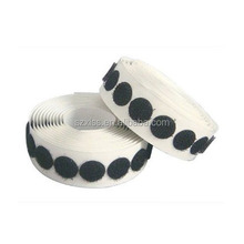 Customized round dot 3M adhesive /sticky hook and loop dots