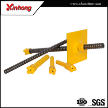 China high tensile full thread hollow rock steel anchor bar for tunnels