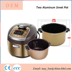 High Quality 7 In 1Cookers German Aluminum Pressure Rice Cooker Parts