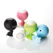 New Silicone Sucker Holder Wine Cup Shaped Speaker For Apple & Android Devices PC Computer Mini Portable Wholesale
