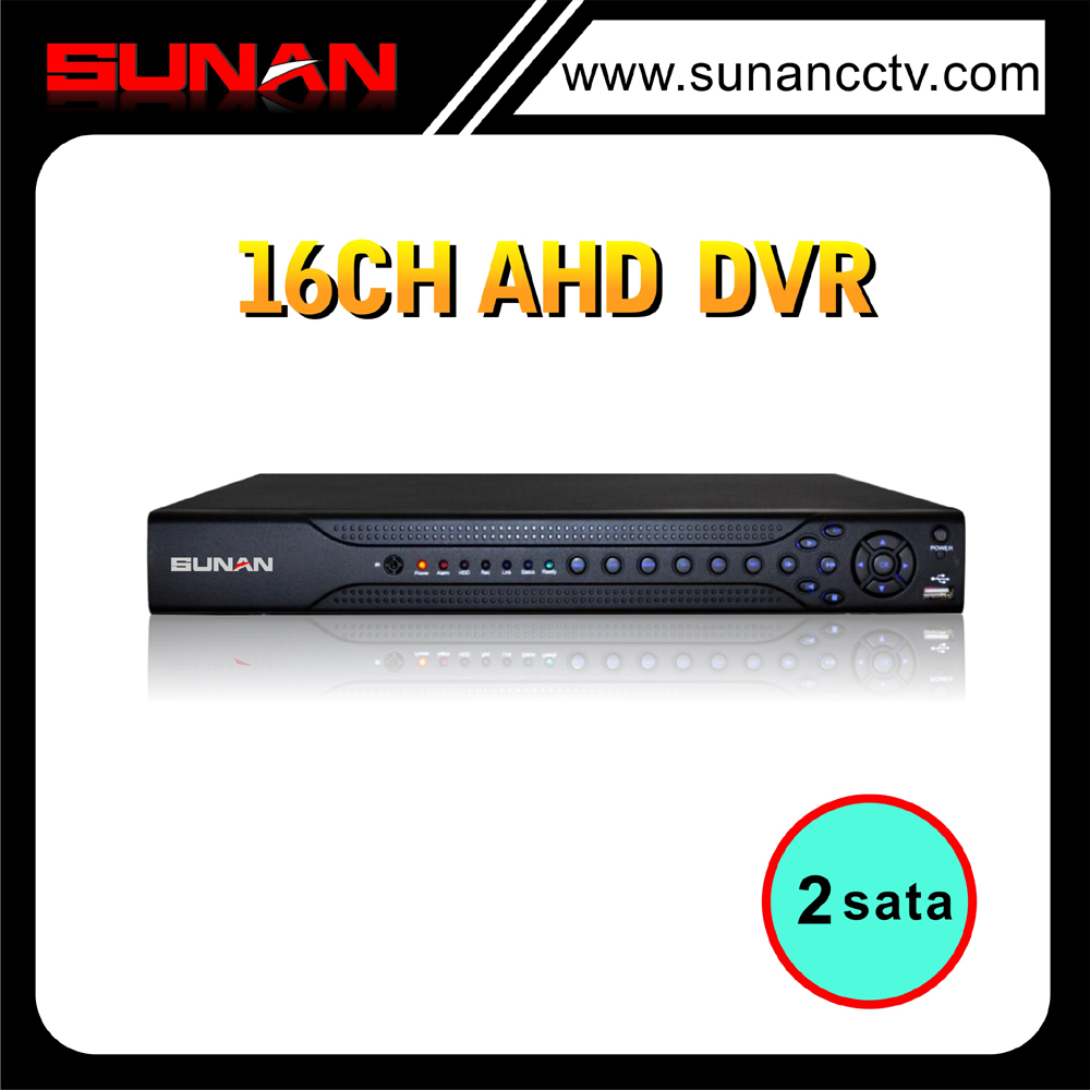 H 264 16CH 1080P AHD alhua dvr from China manufacturer support admin password reset