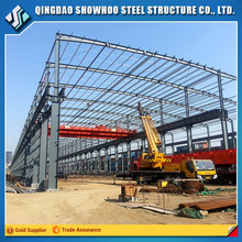 Wide span structural steel fabrication welding workshop layout buildings