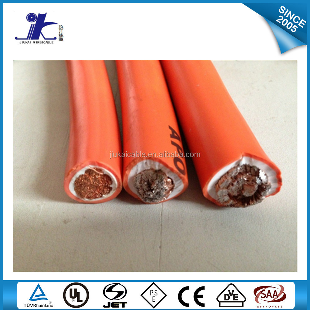 UL copper conductor welding cable/colored welding cable/co2 welding cable