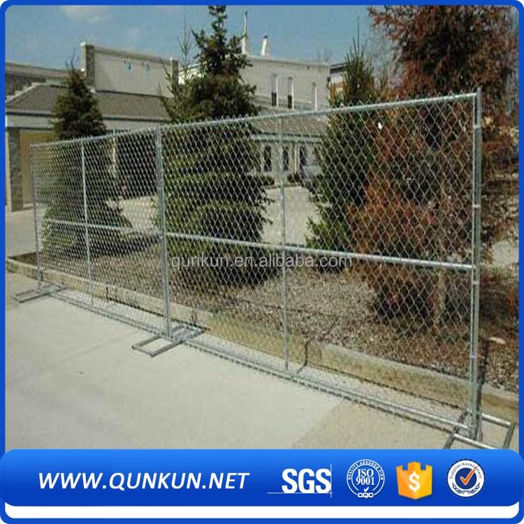 Temporary decorative garden border chain link fence hot