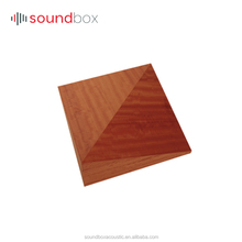 Trending product Acoustic 3D wooden Diffusion panel for big place