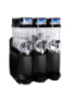 High quality commercial slush mahine snow frozen drink three tank