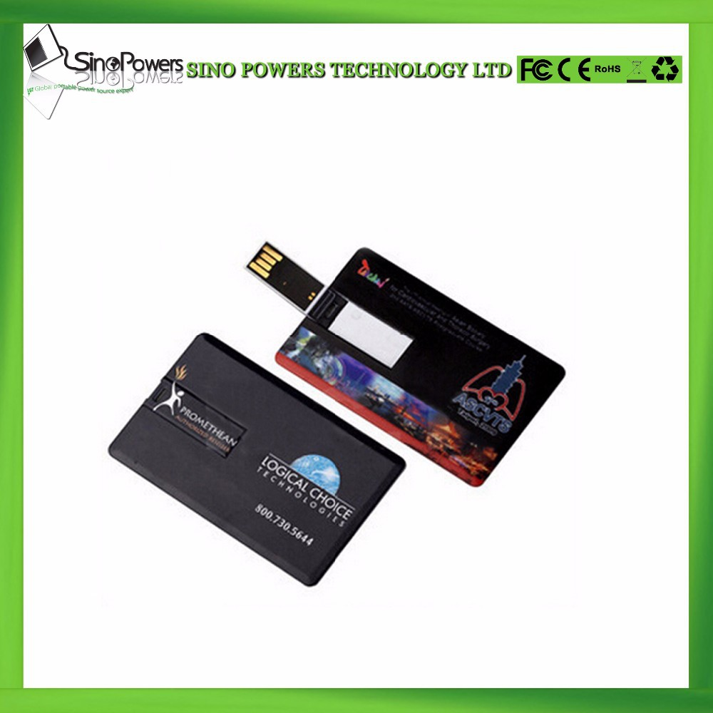 Large quantity factory usb flash drive Business credit card usb flash drive