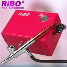China supplies Cheap Air airbrush makeup kits set for face makeup with Air Sprayers gun