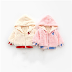 New style toddler clothing 2018 baby girl winter warm coat