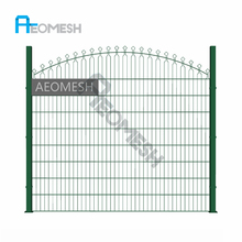 Welded double wire fence panel 5cm*5cm