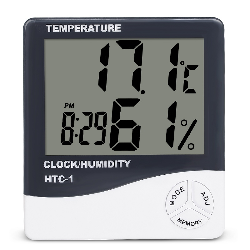 Hottest Digital Thermometer Hygrometer HTC-1