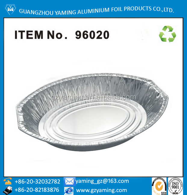 packing for food -disposable aluminium foil container turkey pan,roaster tray