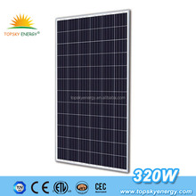 Fast delivery cheap polycrystalline silicon poly 320w solar panel in stock for sale