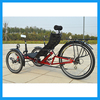 Leisure Three Wheel Recumbent Trike With 20 Inch Wheels