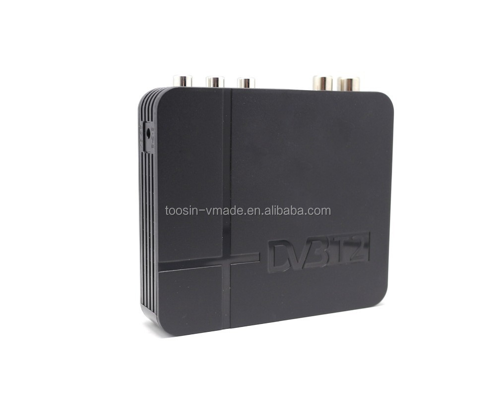 HD 1080P TOOSIN DVB-T2 TV Set-top Box Digital Terrestrial Receiver with USB FROM Shenzhen