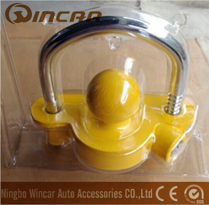 Heavy loading tralier coupler lock for hitch