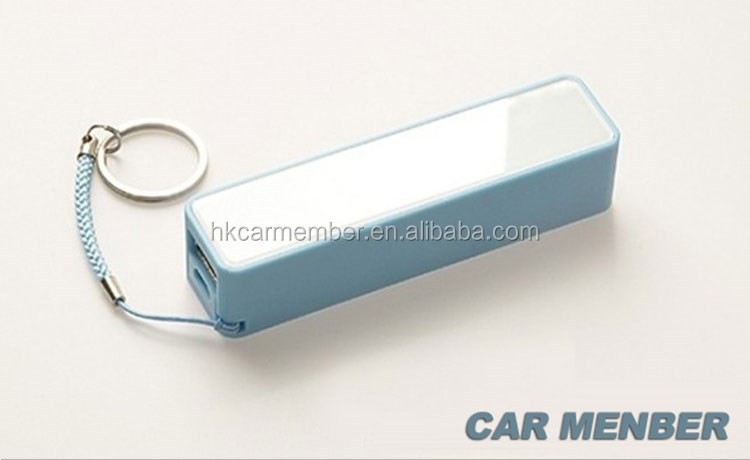 Car Member wholesale price mini slim power bank 2600mah for smart phone