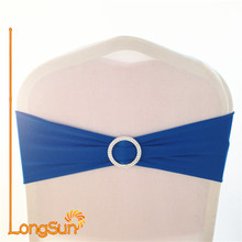 wedding spandex chair cover sashes with buckle