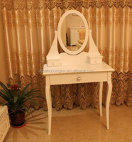 french white wooden dressing table designs