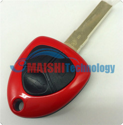2015 newest best quality car key remote cover for car ferrari 3 button replacement key shell with uncut blade