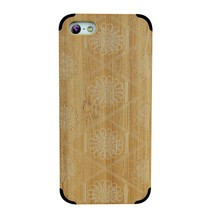 Perfect Handle!Protective Original Wood Phone Case For iphone 5C Bamboo Black Fashion Style Phone Cover