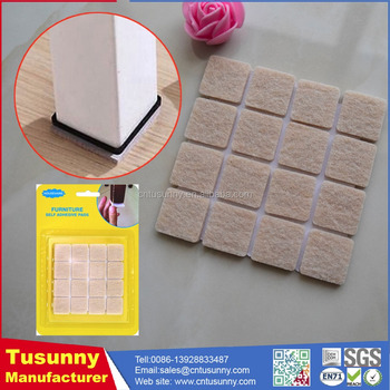made in China high quality felt pad foot protector for furniture