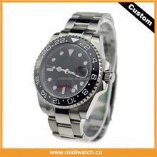 316L Stainless steel Sapphire Crystal Miyota Mechanical Brand Watch, for Men and Women