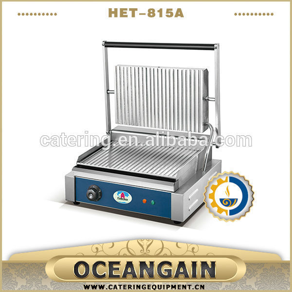 stainless steel contact grill toaster for catering