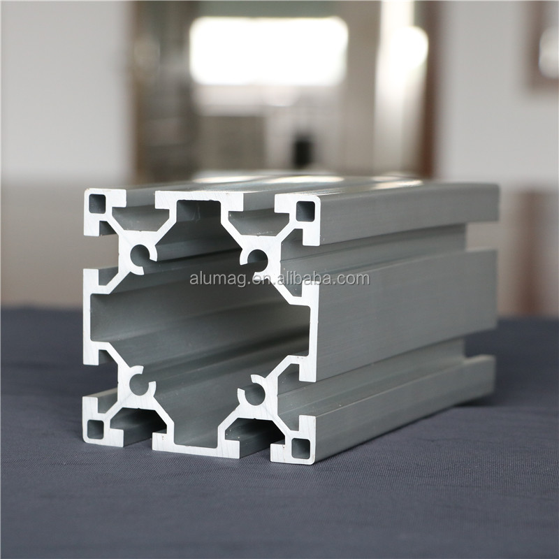 Aluminum Machine Guide Rail Profile Extrusion with Factory Offer