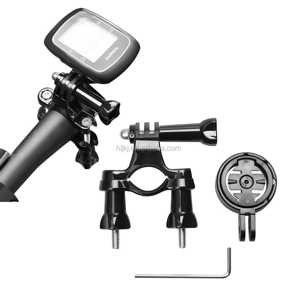 Handlebar Mount with Garmin edge mount holder adapter For Garmin Edge 200 500 510 800 810 1000 GPS