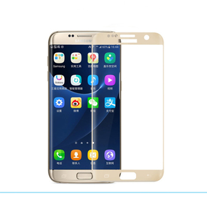 0.2mm ultra slim 3D curved full screen tempered glass film protector for samsung galaxy S6 edge