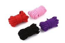 Hot sale 10M Cotton Rope Comfortable and Harmless Soft Cotton SM Rope for Adult Couples Sex Toy Kit