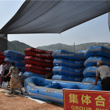 commercial inflatable rafting boat , china manufacture floating inflatable raft