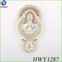 Elegant charm wedding dress parts for wedding women wedding dress accessories
