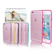 For Iphone 6 Case Colorful Crystal Phone Case with Straps Hole