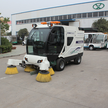 street cleaning truck, ride on floor cleaning machine/sanitation sweeper car/European Road Sweeper